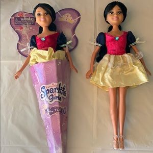 Other - FunVille Sparkle Girls Dolls